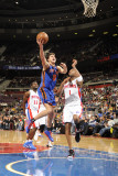 New York Knicks v Detroit Pistons: Danilo Gallinari and Tracy McGrady
