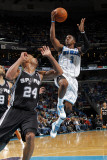 San Antonio Spurs v New Orleans Hornets: Chris Paul and Richard Jefferson