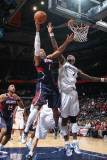 Washington Wizards v Atlanta Hawks: Maurice Evans and Andray Blatche