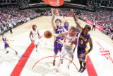 Los Angeles Lakers v Houston Rockets: Chase Budinger and Matt Branes
