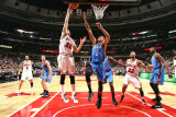 Oklahoma City Thunder v Chicago Bulls: Kyle Korver and Thabo Sefolosha