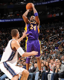 Los Angeles Lakers v New Jersey Nets: Kobe Bryant and Brook Lopez