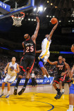 Miami Heat v Golden State Warriors: Dorell Wright and Erick Dampier