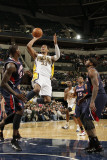 Atlanta Hawks v Indiana Pacers: Danny Granger  Josh Smith and Marvin Williams