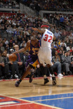 Los Angeles Lakers v Detroit Pistons: Kobe Bryant and Richard Hamilton