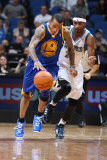 Golden State Warriors v Minnesota Timberwolves: Monta Ellis and Corey Brewer