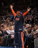 Denver Nuggets v New York Knicks: Spike Lee