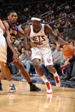 Los Angeles Lakers v New Jersey Nets: Anthony Morrow and Ron Artest