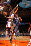 Charlotte Bobcats v New York Knicks: Ronny Turiaf and Boris Diaw