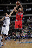 Chicago Bulls v Dallas Mavericks: Derrick Rose and Jose Juan Barea
