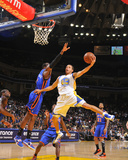 New York Knicks v Golden State Warriors: Stephen Curry and Amare Stoudamire