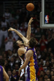 Los Angeles Lakers v Milwaukee Bucks: Andrew Bogut and Pau Gasol