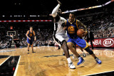 Golden State Warriors v San Antonio Spurs: Monta Ellis and DeJuan Blair