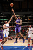 Sacramento Kings v Los Angeles Clippers: DeMarcus Cousins and Jarron Collins