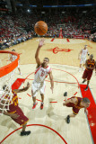 Cleveland Cavaliers v Houston Rockets: Shane Battier and Leon Powe