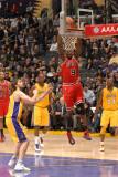 Chicago Bulls v Los Angeles Lakers: Luol Deng