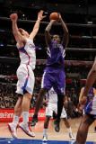 Sacramento Kings v Los Angeles Clippers: Samuel Dalembert and Blake Griffin