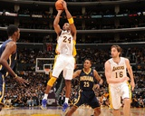 Indiana Pacers v Los Angeles Lakers: Kobe Bryant