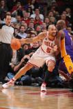 Los Angeles Lakers v Chicago Bulls: Carlos Boozer and Lamar Odom