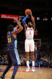 Denver Nuggets v New York Knicks: Amar'e Stoudemire and Nene