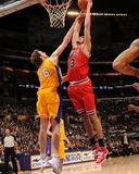 Chicago Bulls v Los Angeles Lakers: Joakim Noah and Pau Gasol