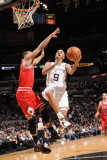 Chicago Bulls v San Antonio Spurs: Tony Parker and Derrick Rose