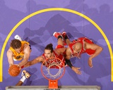 Chicago Bulls v Los Angeles Lakers: Joakim Noah