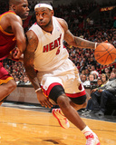Cleveland Cavaliers v Miami Heat: LeBron James and Antawn Jamison