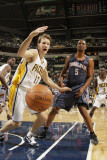 Charlotte Bobcats v Indiana Pacers: Mike Dunleavy and Dominic McGuire