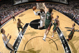 Milwaukee Bucks v San Antonio Spurs: DeJuan Blair and Andrew Bogut