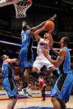 Orlando Magic v Los Angeles Clippers: Eric Gordon  Brandon Bass  Rashard Lewis and JJ Redick