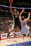 San Antonio Spurs v Los Angeles Clippers: Tim Duncan and Blake Griffin