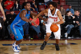 Texas Legends v Idaho Stampede: Salim Stoudamire and Justin Dentmon