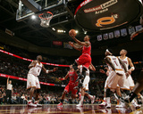Chicago Bulls v Cleveland Cavaliers: Derrick Rose  Antawn Jamison and Daniel Gibson
