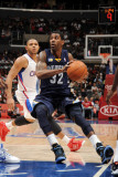 Memphis Grizzlies v Los Angeles Clippers: OJ Mayo and Eric Gordon