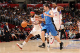 Orlando Magic v Los Angeles Clippers: Baron Davis and JJ Redick