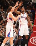 San Antonio Spurs v Los Angeles Clippers: Blake Griffin and DeAndre Jordan