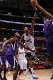 Sacramento Kings v Los Angeles Clippers: DeAndre Jordan  Samuel Dalembert and Jason Thompson