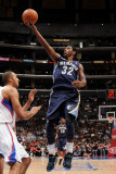Memphis Grizzlies v Los Angeles Clippers: OJ Mayo and Brian Cook