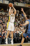 Orlando Magic v Indiana Pacers: Mike Dunleavy and J J Redick