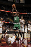 Boston Celtics v Cleveland Cavaliers: Marquis Daniels and Daniel Gibson