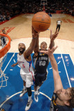 Memphis Grizzlies v Los Angeles Clippers: Darrell Arthur  Marc Gasol and Baron Davis