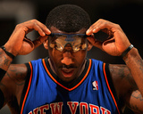 New York Knicks v Denver Nuggets: Amar&#39;e Stoudemire