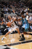 New Orleans Hornets v San Antonio Spurs: Tony Parker and Chris Paul