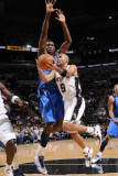 Dallas Mavericks v San Antonio Spurs: Tony Parker and Ian Mahinmi