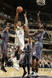 Charlotte Bobcats v Indiana Pacers: Danny Granger and Kwame Brown