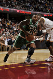 Boston Celtics v Cleveland Cavaliers: Glen Davis and Antawn Jamison