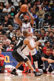 San Antonio Spurs v Los Angeles Clippers: Baron Davis and Tony Parker