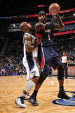 Atlanta Hawks v Orlando Magic: Josh Smith and Quentin Richardson