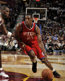 Philadelphia 76ers v Cleveland Cavaliers: Thaddeus Young and Antawn Jamison
